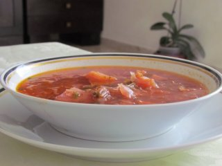 מרק ירקות - בורשט