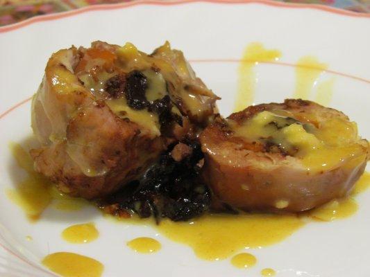 חזה עוף ממולא בתנור