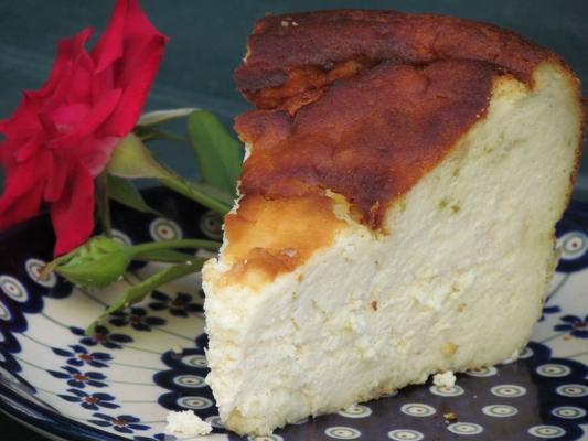 עוגת גבינה ללא גלוטן - טורט ריקוטה לימון