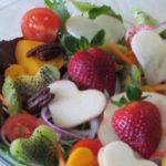 סלט פירות וירקות - חגיגת חג האהבה
